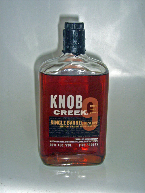 Knob Creek Single Barrel Reserve Bourbon Whiskey