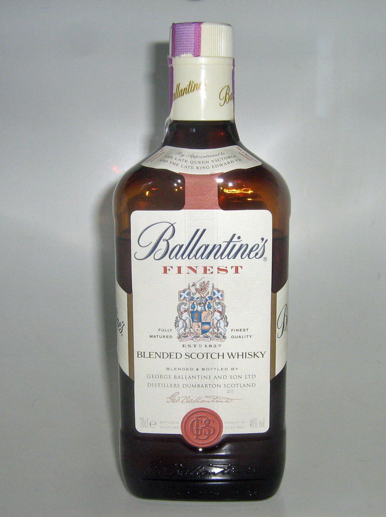 Ballantineu0027s Finest Blended Scotch Whiskey