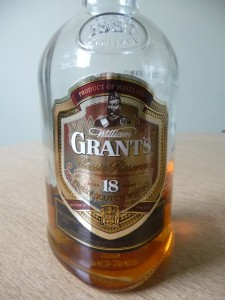 The old Grant's 18 Year Old
