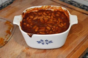 Bourbon and Bacon Baked Beans