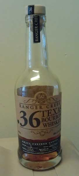 Ranger Creek .36 Bourbon