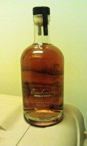 Breckenridge Bourbon Bottle