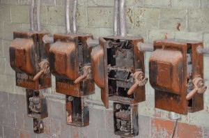Distillery control boxes