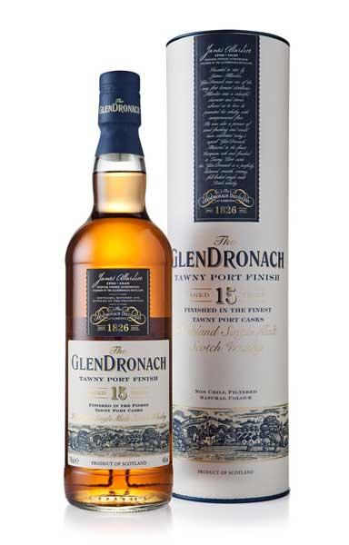 GlenDronach Port Finish 15 Year Old Scotch Review
