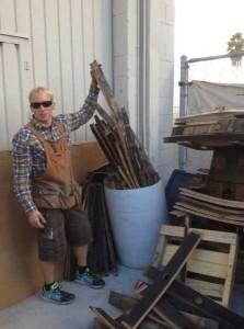 Close Up On Hungarian Workshop Maker Of Whiskey Barrel