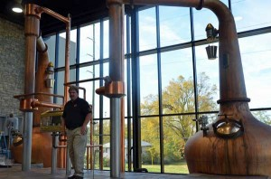 Coffman with his Forsyth's stills