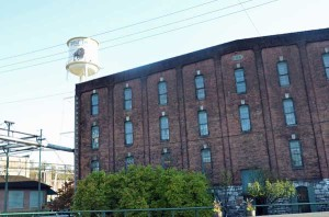 Buffalo Trace Warehouse and Water Tower