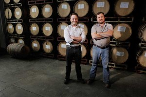 Finger Lakes founders Brian (left) and Thomas MacKenzie(no relation)(Credit: Finger Lakes Distillery)