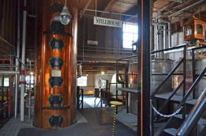 Corcoran of Louisville copper at Dickel distillery