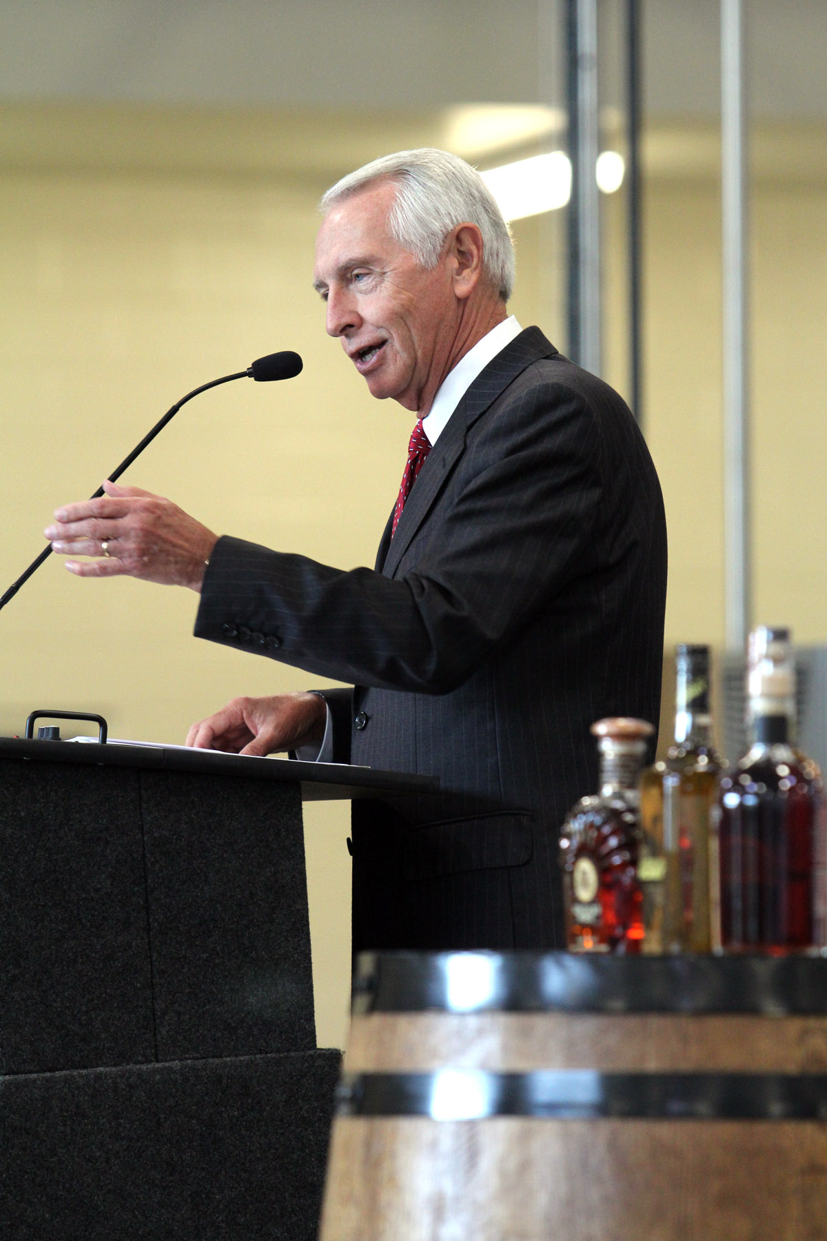 Gov. Steve Beshear at Wild Turkey