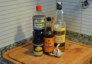 Whiskey marinade ingredients