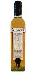 Belgrove 100% Rye Whiskey