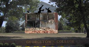 Giddings Hall demolished