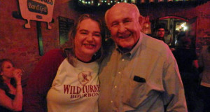 April Manning with Jimmy Russell