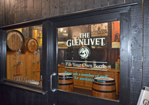 "The Glenlivet ""filling station"""