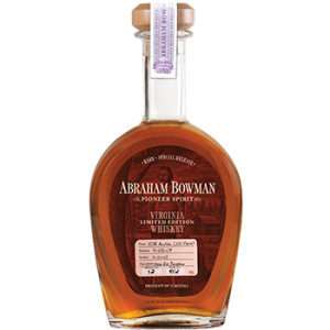 A. Smith Bowman High Rye Bourbon