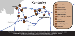 Bourbon Trail Map