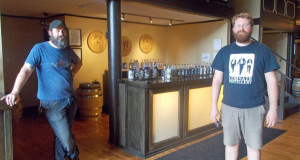 Clay Smith and Steve Whitledge, Corsair Distillery