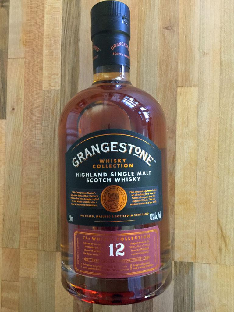 grangestone 12 year old highland single malt scotch review the
