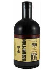 Redemption Rye 7 YO Barrel Proof