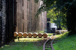 Woodford Reserve barrel tracks