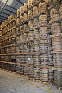 Midleton ex-bourbon barrels