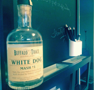 Buffalo Trace White Dog #1