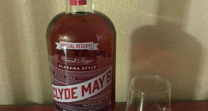 Clyde May Special Reserve Alabama Whiskey