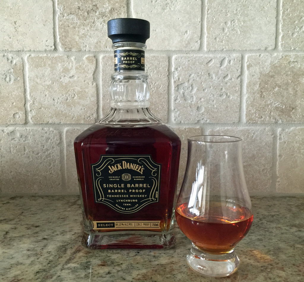 Jack daniel s single barrel barrel proof tennessee whiskey review 2016 the whiskey reviewer for Photos jack daniels