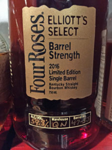 Four Roses Elliott's Select Single Barrel
