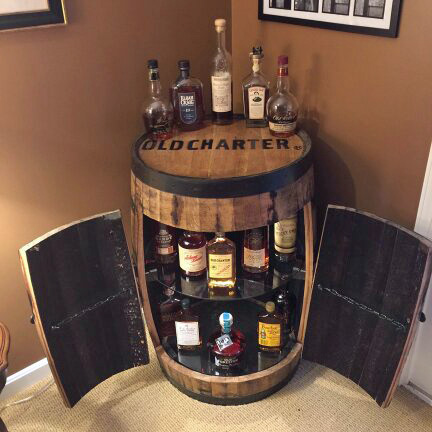 Incroyable Bourbon Barrel Bar