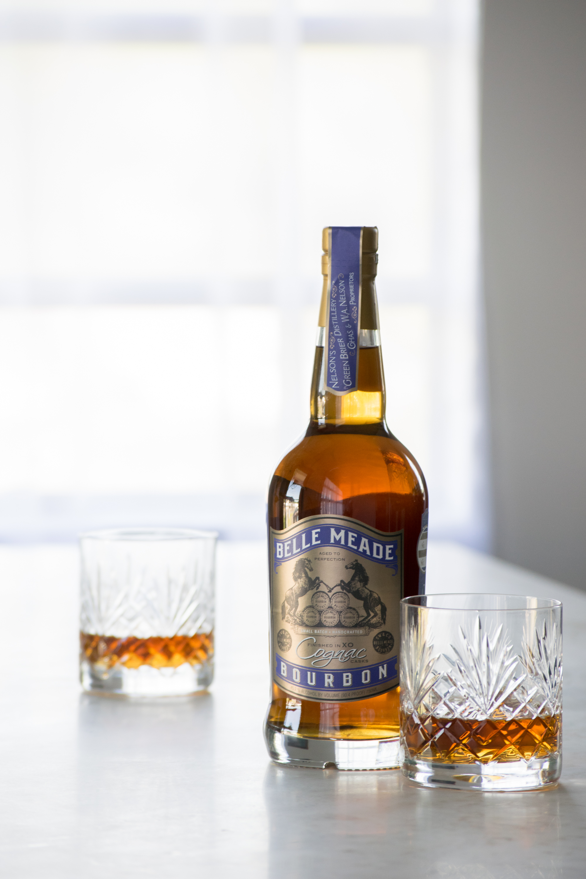 Belle meade cognac cask finish bourbon review the whiskey reviewer - Tennessee cognac ...
