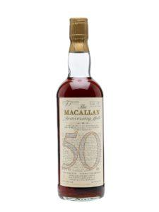 Macallan 50 YO Anniversary