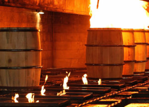 Brown-Forman barrel char