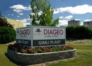 Diageo's Crown Royal plant in Alberta, Canada