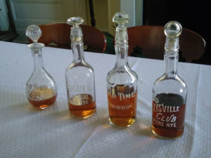 Old Pogue decanters