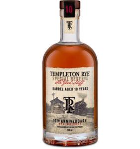 Templeton 10YO Rye Whiskey
