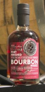 Black Button Distilling Single Barrel Cask Strength Port-Finished Bourbon