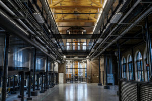 Angel's Envy distillery interior