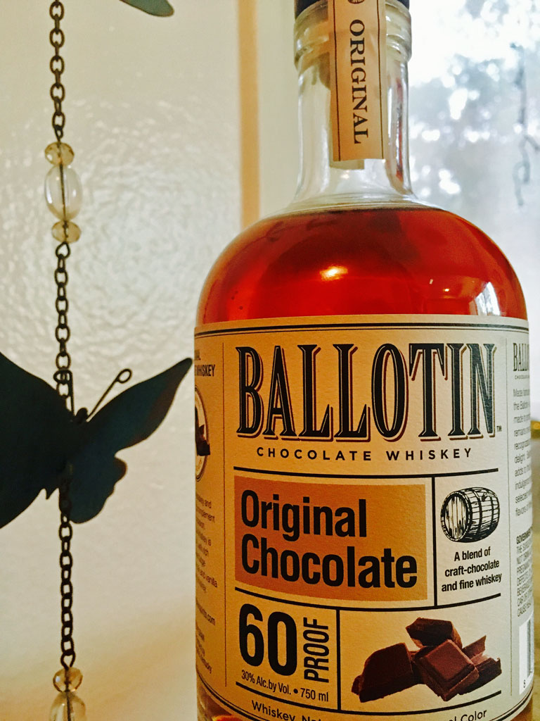 Ballotin Original Chocolate Whiskey Review | The Whiskey Reviewer