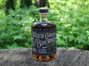 Bluebird Distilling Four Grain Bourbon