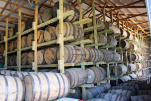 Cedar Ridge barrel shed