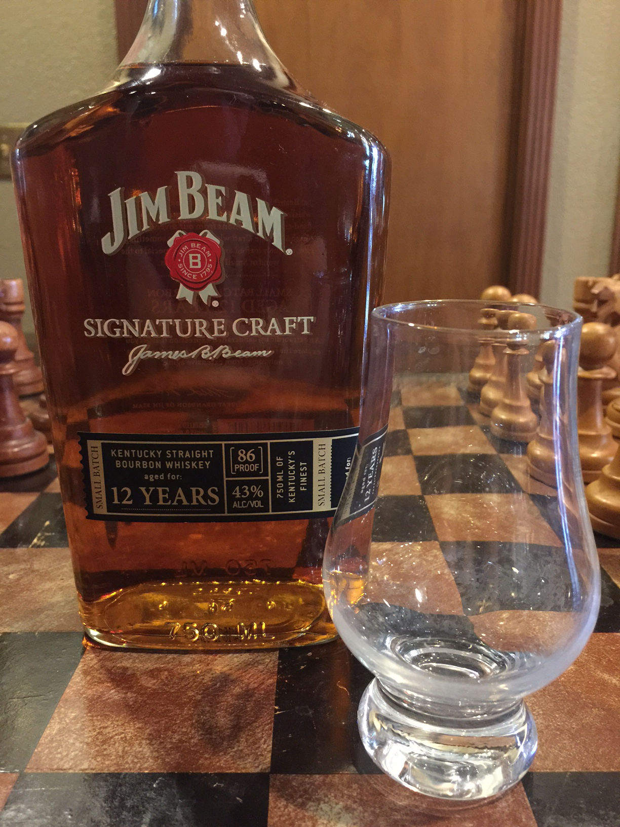 Jim Beam Signature Craft 12 Year Old Bourbon Review The