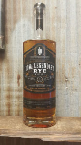 Iowa Legendary Aged Rye Whiskey