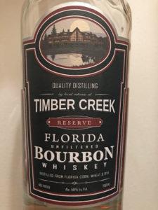 Timber Creek Reserve Florida Bourbon