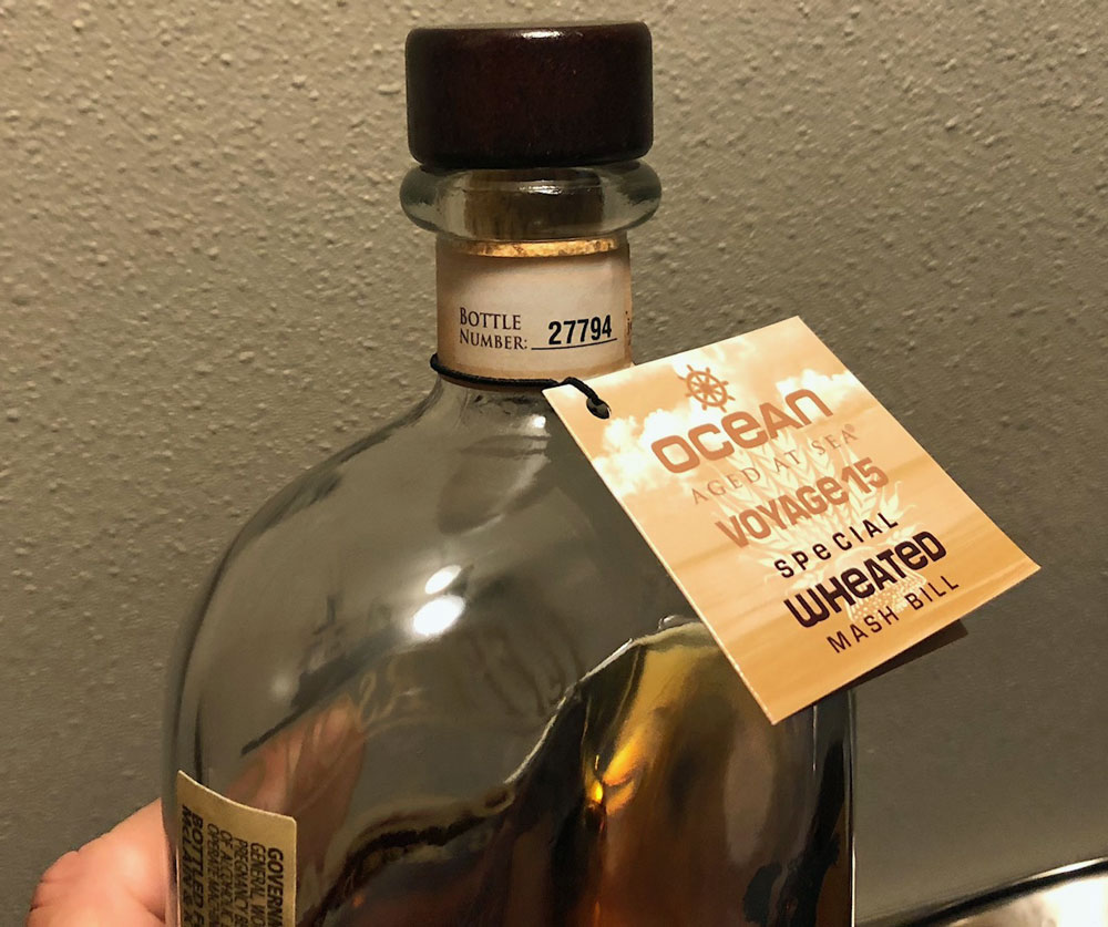 Jefferson S Ocean Voyage 15 Bourbon Review The Whiskey